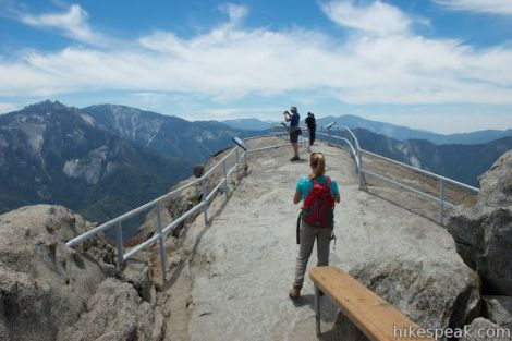 Moro Rock Trail in Sequoia National Park